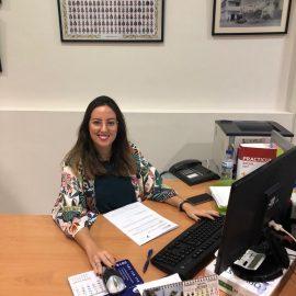 Maria Garcia Madrid: Es graduada en Relaciones laborales